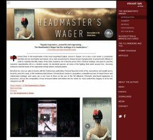 Vincent Lam website
